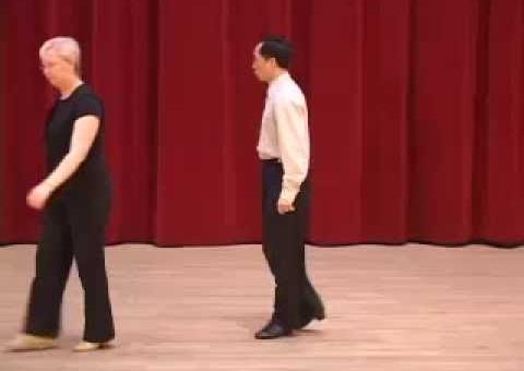 Silver Mambo - Crossover & Walk Around Turn Ballroom Dance Lesson